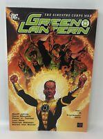 GREEN LANTERN The Sinestro Corps War Geoff Johns DC TPB Graphic Novel