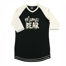 LazyOne Womens Mama Bear PJ Tall T Shirt Adult Medium TLS402M
