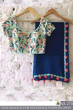 Indian Saree designer Ethnic Pakistani Bollywood Sari Wedding Partywear Saree