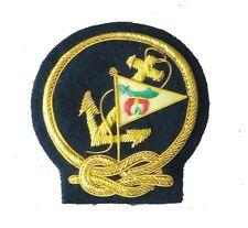 Shriner Yacht Club Member Ship Sloop Marina Regata Uniform Blazer Badge Patch ?