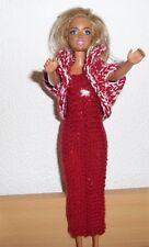 vêtements  pour  barbie  robe boléro  NEUF lavables et résistants voir détail