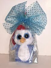 TY FAIRBANKS BEANIE BOOS IN CELLO-NON MINT W/TAG-RETIRED,HARD TO FIND-LOVES SNOW