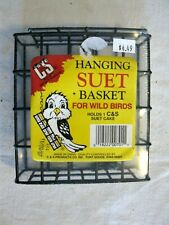 Hanging Suet Basket for Wild Birds