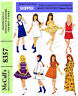 Vintage  Skipper,Blythe,Skooter doll clothes sewing patterns - 9 inches