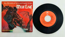 Meat Loaf ‎All Revved Up With No Place To Go Heaven Can Wait  Vinyl 45 Giri 7""