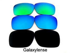 Replacement Lenses For Ray Ban RB4165 Justin Black/Blue/Green Polarized 54mm 3PS
