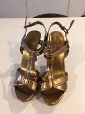 Velcro Leather Stilettos Heels for Women