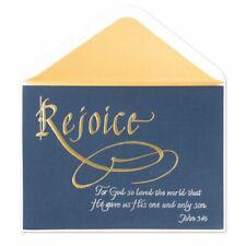 Papyrus Rejoice Christmas Card