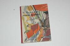W Majakowski Wiersze dla dzieci il A Jurkiewicz 1956 Polish book for children