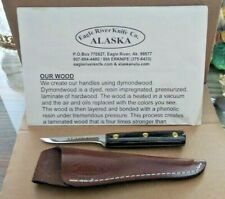 "New Alaska Eagle River Knife Co. 6-1/2"" Paring Knife w/Sheath w/Paper/Warranty"