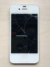 iPhone 4S weiß 16GB mit gesplittertem Displayglas