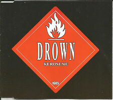 DROWN w/ ORGY HED PE & videodrone Kerosene 2 MIXES & UNRELASED CD single SEALED