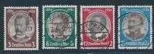 D.Reich Nr. 540-543 gestempelt, Kolonialforscher (54081)
