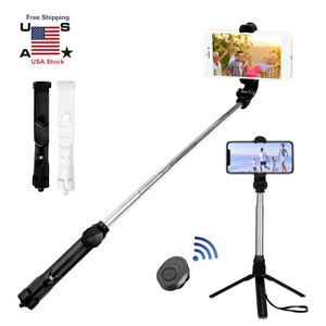 Selfie Stick Tripod Remote Shutter Extendable Monopod For iPhone 11 Pro Max/Xs