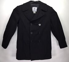 DSCP Quarterdeck Collection Genuine Navy Issue Wool Pea Coat Size 42L