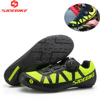 SIDEBIKE MTB Mountain Cycling Bicycle Shoes for Shimano SPD Road Bike Shoes