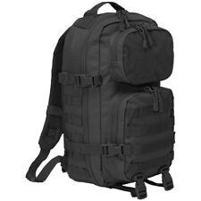 Brandit Us Cooper Patch Rucksack Police Security Waterproof Molle Backpack Black