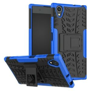 For Sony Xperia XA1 XA1 Ultra XZ Premium Case Heavy Duty Tough Kickstand Cover