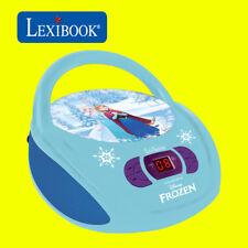 Lexibook Kids Disney Frozen Boombox Radio CD Player AUX FM Radio Stereo