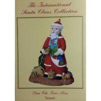 International Santas Dun Che Lao Ren - Taiwan Christmas Figurine (The Claus