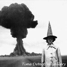 A Witch and An Atomic Mushroom Cloud - Historic Photo Print