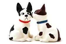 8991 Funny Mutts Magnetic Salt Pepper Shaker Set French Bulldog Dog Puppy