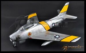 JSI  MERIT 1/18 SCALE AIRCRAFT USAF F-86F SABRE JET, KOREAN WAR, MAJOR J. JABA