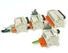 4x SMC VV5Q 28x Solenoid Valves Manifold Block VQ1200R-5 VVQ1000-10A-1 VQ1100R-5