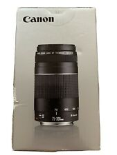 Canon EF 75-300 mm F/4-5.6 III camera Lens - New Sealed