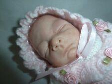 "OOAK 9"" Polymer Clay Baby Girl"
