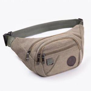 Fanny Pack Waist Bag Men Women Crossbody Hip Belt Pouch Pocket Travel Sport Bum