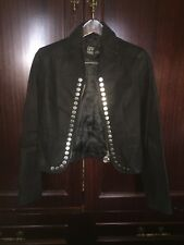 Gianfranco Ferre Leather Jacket Bohemian Hippie