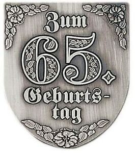 Einzel-Wappen (Ehrung, Geburtstag, Hochzeit, Feuerwehr), 75 x 65mm