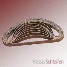 100 Schleifbänder Schleifband 13x457 mm Körnung P40 für Black&Decker Powerfeile