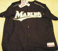 FLORIDA MARLINS ADULT XL AUTHENTIC BASEBALL JERSEY NEW NEVER WORN