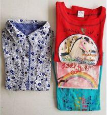 Beau lot de 3 t-shirts manches longue fille + 1 chemisier