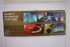 SG MS3341 2012 WELCOME TO LONDON OLYMPIC MINIATURE SHEET MNH
