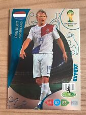 Adrenalyn XL Weltmeisterschaft 2014 Expert Karte Dirk Kuyt Niederlande Panini
