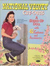 Vntg 1962 National Velvet Paper Doll Lasr Reprodu~Org Sz Unct Free Sh No1 Selr