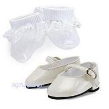 NEW American Girl Bitty Baby Mary Jane Shoe Set-Retired/NIB