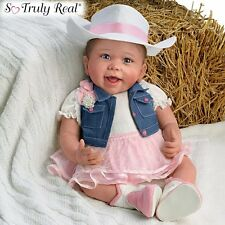 Ashton Drake - CHESNEY COUNTRY STYLE Poseable Baby Doll by Linda Murray