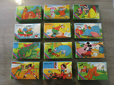 RARE intégrale série GRIMAUD Walt Disney 12 mini puzzles - ELLIOTT le Dragon ...