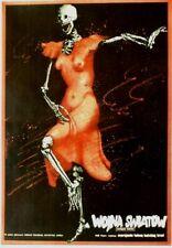 Original vintage poster WOJNA SWIATOW POLISH MOVIE WWI SCULL 1982
