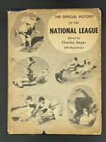 *VINTAGE* 1951 Official History of the National League 75th Anniversary NL MLB