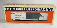 Lionel 6-19938 1995 O Gauge Christmas Happy Holidays White Boxcar w Box