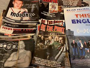 Lot of 30 fanzines oi! punk ska