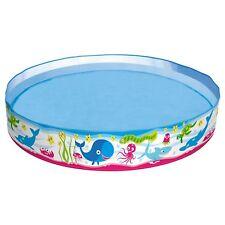 VITA MARINA POP UP GIARDINO rigido Piscina per bambini ACQUA GIOCARE 152x25.4cm
