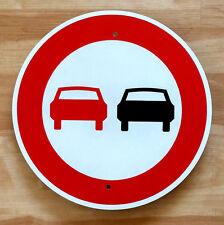 """Autobahn - NO PASSING - Sign /  11.5"""" ALUMINUM  -  European Highway - Garage"""