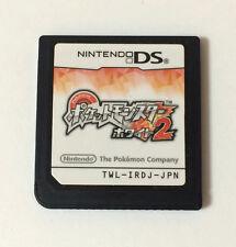 USED Nintendo DS Pocket Monster White 2 JAPAN Game Soft Only Japanese Pokemon
