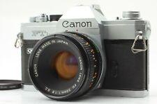CANON FTb-N QL w/ FD 50mm F/1.8 SC LENS KIT SLR 35mm FILM CAMERA FROM JAPAN